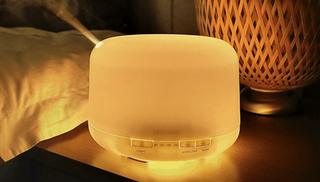 MUJI Style Essential Oil Diffuser Aroma Ultrasonic Humidifier Air Purifier
