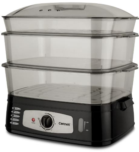 1-Cornell CFSEL20L - 25L electric food steamer