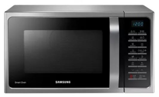2-SAMSUNG MC28H5015AS 28L CONVECTION MICROWAVE OVEN