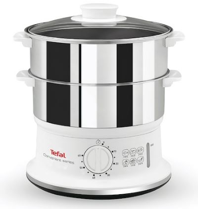 2-Tefal VC1451 Stainless Steel Food Steamer