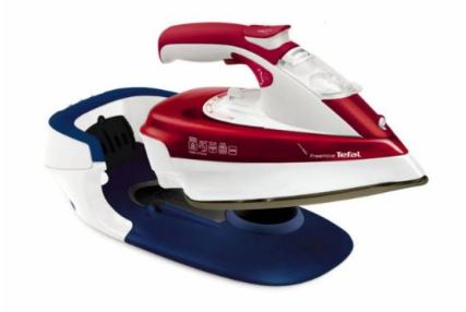 3-Tefal FreeMove Cordless Steam iron FV9976 garment clothes steamer