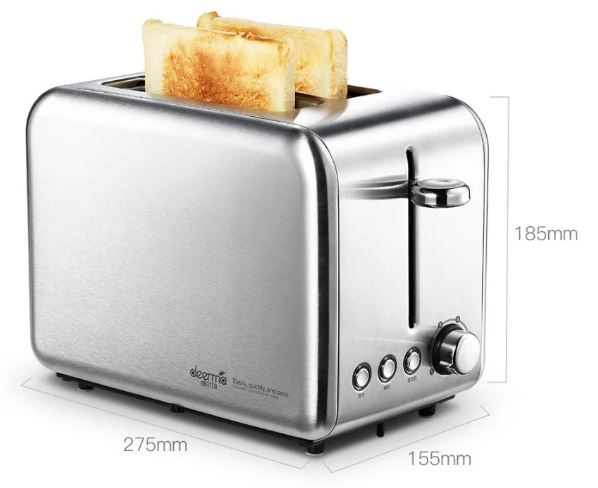 3-Xiaomi Deerma Bread Baking Machine Electric Toaster
