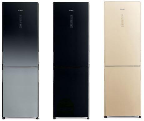 4-Hitachi R-BG415P6MSX 2-Door Bottom Freezer Refrigerator