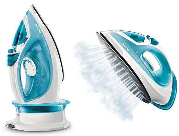 4-Philips Easy speed plus Cordless Steam iron GC-2080 Garment Clothes Steamer