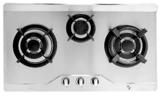 4-Triple Ring Built-In Hob by EF Kitchen