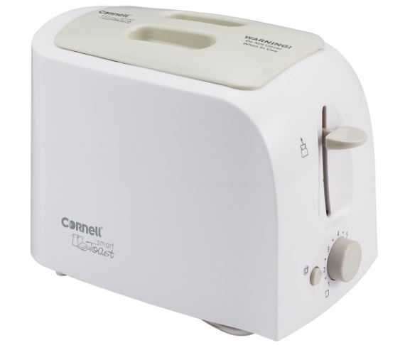 5-Cornell 2 Slice Pop Up Bread Toaster