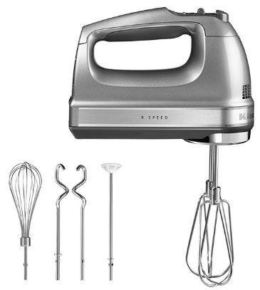 1-KitchenAid 9 Speed Hand Mixer