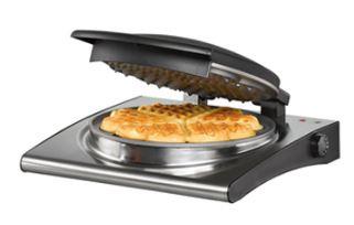 2-Rommelsbacher WA 1000 Waffle Maker