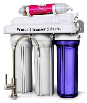 3-AmGlow 5-Stage Water Filter System