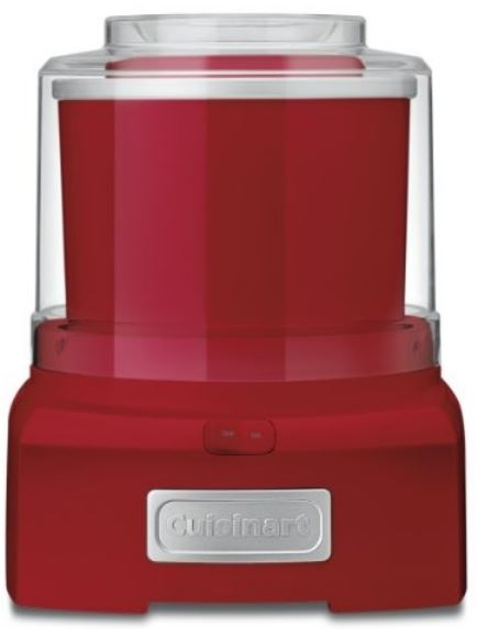 3-Cuisinart ICE-21R Ice Cream Maker (Red)