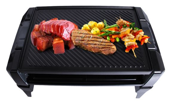 3-Electric Roaster Oven BBQ Barbecue Grill