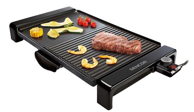 3-Sencor Electric Tabletop Grill - SBG106BK