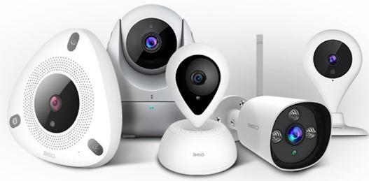 4-360 IP Camera CCTV Baby Monitor