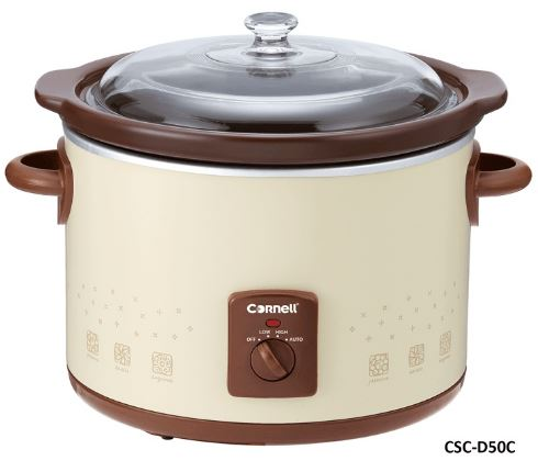 4-Cornell CSC-D15C-D35C-D50C - Electric Slow cooker
