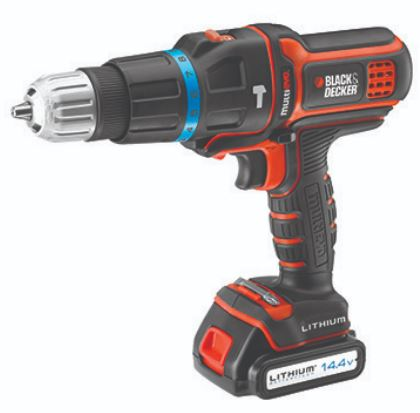 1-Black and Decker 14.4V Cordless Multi Evo EVO143 Multi Drill
