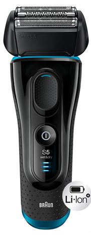 2-Braun Series 5 5140s Rechargeable Electric Shaver