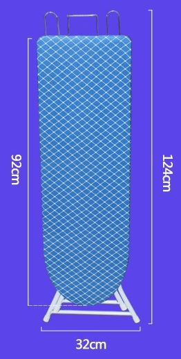 3-RC-Global Premium Standing Ironing Board Classic Iron Board