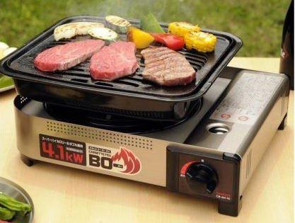 4-Iwatani Cassette Burner BO-EX Portable Butane Stove