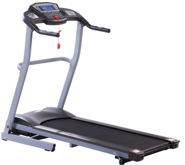 4-JIJI Foldable Treadmill