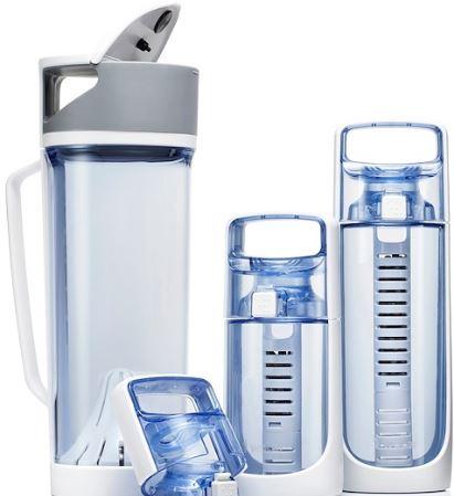 4-i-Water Alkaline Water Ionizer Bottle