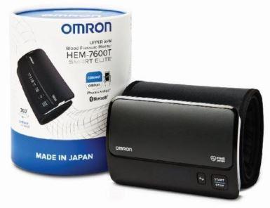 1-Omron Portable Smart Elite Blood Pressure Monitor HEM-7600T