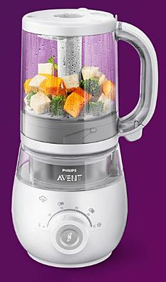 1-Philips Avent 4 in 1 Baby Food Maker