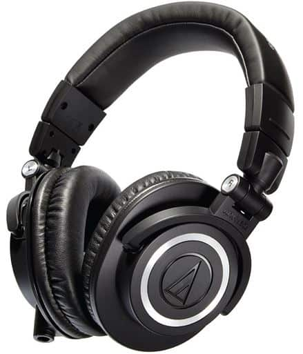2-Audio Technica ATH-M50X Studio Monitor Professional Headphones