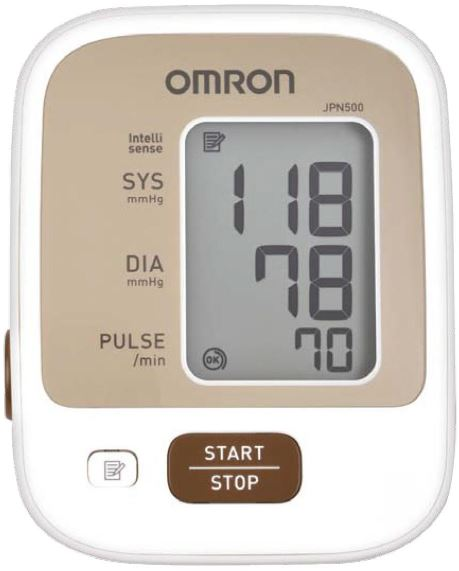 2-OMRON Upper Arm Blood Pressure Monitor JPN500