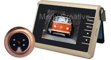 3-Merly Digital Peephole-Doorbell