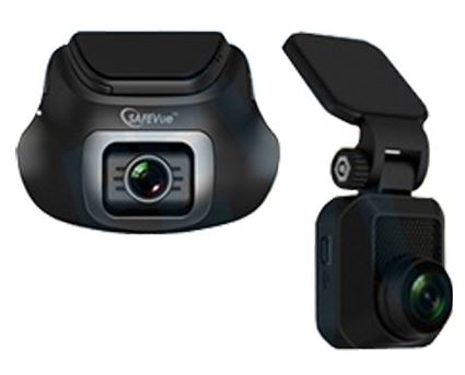 3-SAFEVue 1080P Front and Rear Dual Channel Car Camera
