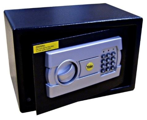 3-Yale Digital Safe Deposit Box
