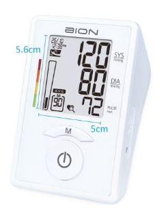 4-BION Blood Pressure Monitor MA350f - MA801f