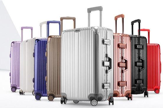 4-Hard Case Trolley Luggage Frame