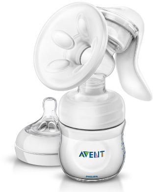 4-Philips Avent Natural Comfort Manual Breast Pump