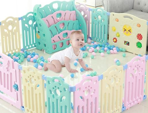4-Safety Play Pen for Babies