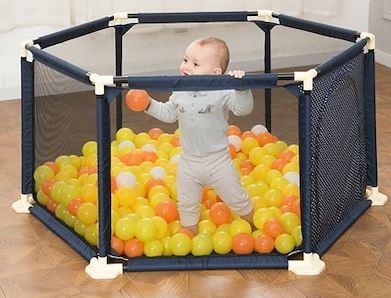 5-Baby Mesh Playpen