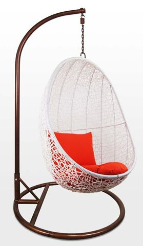 2-Home and Style Cocoon Swing Chair