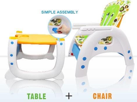 2-PUKU Magic Baby High Chair