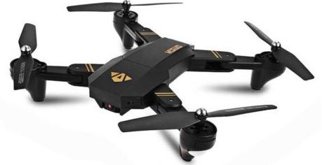 4-Hondarly Mini XS809 Foldable Drone