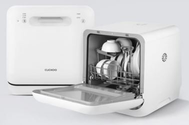 5-Cuckoo Compact Marshmallow Dishwasher