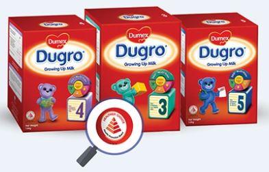 5-Dumex Dugro Regular Step 3-4-5 Babies-Kids Milk Formula