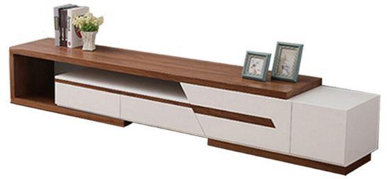 1-Agoramart Premium Wooden Furniture TV Console