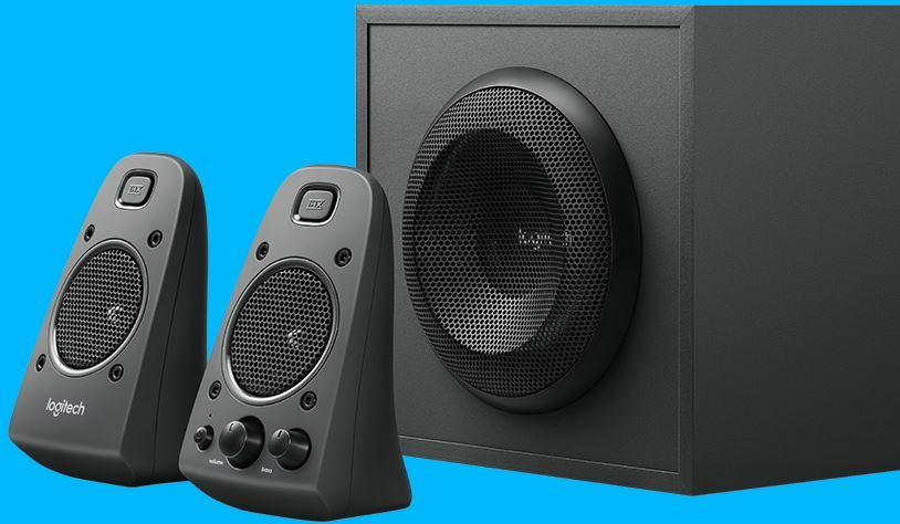 2-Logitech Z625 Speaker System with Subwoofer