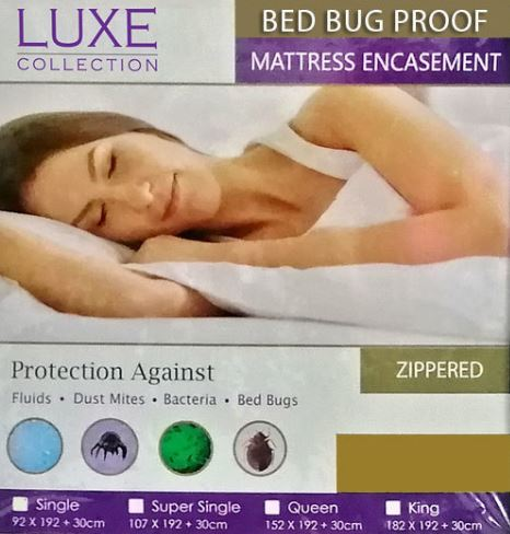 2-Luxe Collection Bed Bug Mattress Protector
