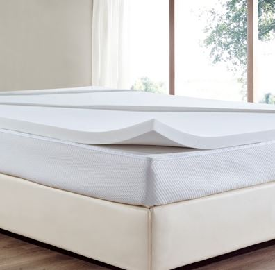 3-Elefen Luxury Memory Foam Mattress Topper