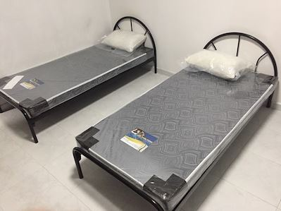 5-LCF Furniture Store Metal Bed Frame