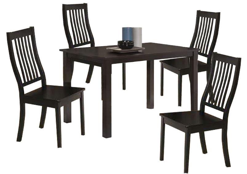 5-Livingmall Dining Set