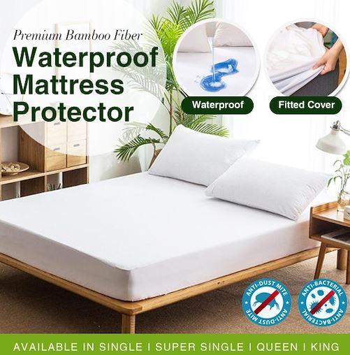 5-Makko Premium Quality Mattress Protector
